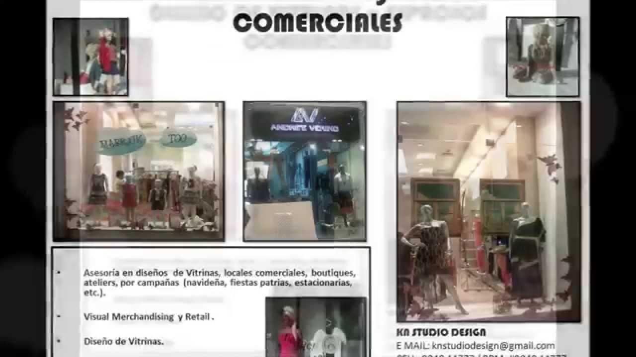 Dise o de vitrinas y espacios comerciales youtube - Vitrinas de diseno ...