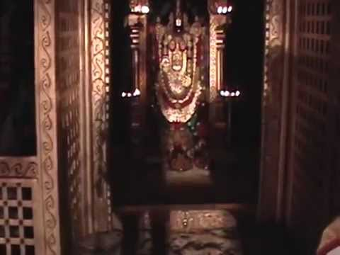 Tirupati Balaji Darshan video