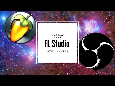 How to screen record fl studio with asio (Free and Paid)
