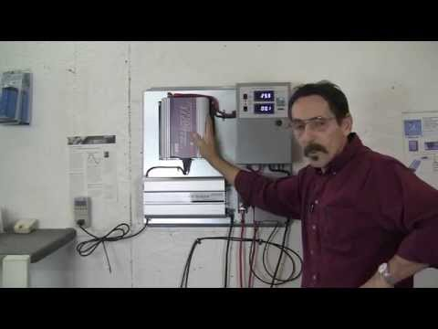 Sun Grid tie inverter with battery back up