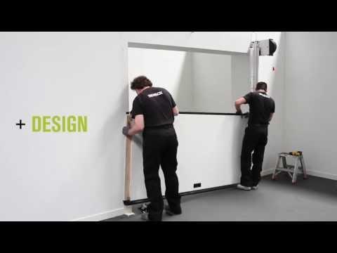 Installazione Nuova OVERLAP Silvelox la porta per garage senza guide a soffitto