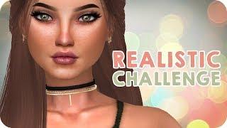 REALISTIC SIM CHALLENGE   Sims 4 Create A Sim Challenge