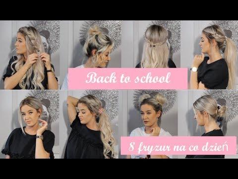 Back To School || Fryzury Z Krótkich I Długich Włosów || 8 Szybkich I łatwych Stylizacji