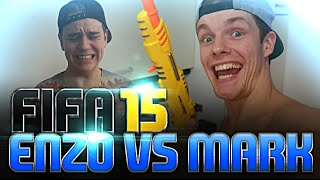 ENZO VS MARK #2 - FIFA15 CHALLENGE #2