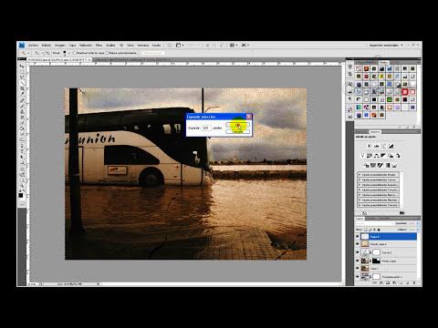 Tutorial Photoshop // Envejecimiento Digital