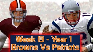 ESPN NFL 2K5 - Cleveland Browns Vs New England Patriots - Week 13