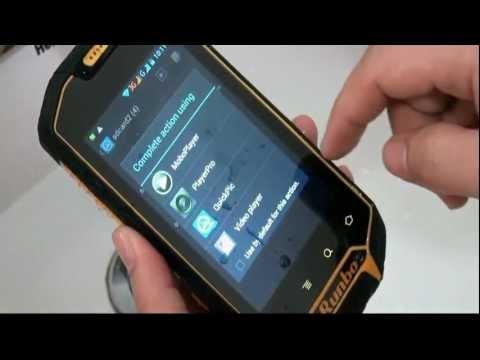 Telefon Walkie Talkie Wodoodporny Wytrzymały Android 4.0