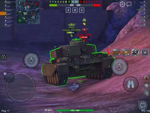 STB-1 - 7 боев 4350 среднего урона за сессию!!! Wot blitz