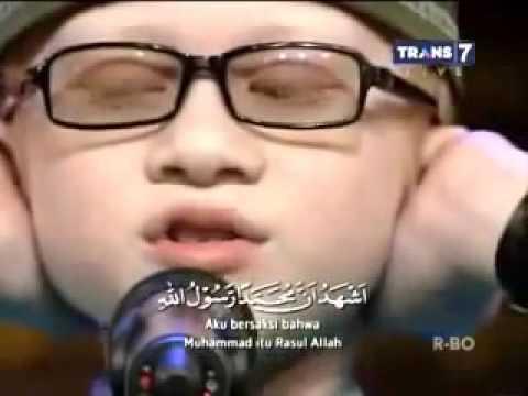 Adzan maghrib anak kecil umur 10 tahun