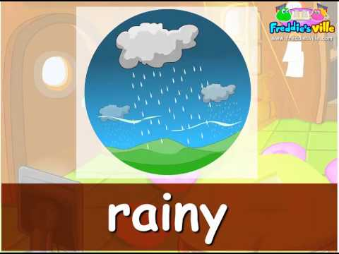 Weather & Clothes Vocabulary Lessons For Kids, English For Children video