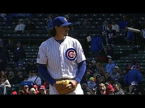 CIN@CHC: Samardzija fans seven in solid outing