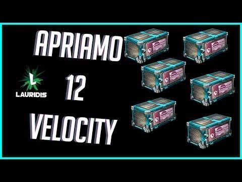 APRO 12 VELOCITY CRATES - Rocket League Spacchettamento ITA
