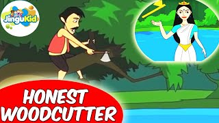 Grandma Stories - Honest Woodcutter - Children Animated Stories