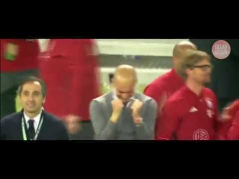 Guardiola emocionado na despedida ao Bayern Munich