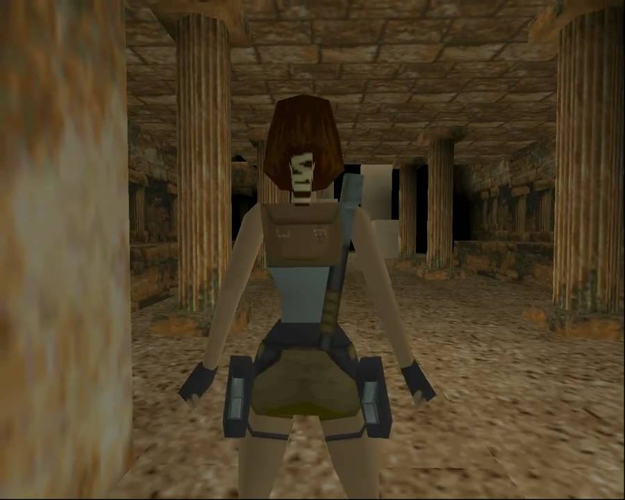 Tomb Raider 1 - Soluce - [Monument St Francis] Partie 1/5 - YouTube