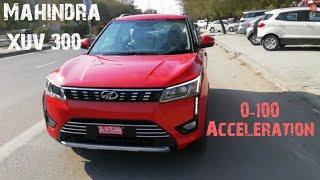 Mahindra XUV 300 0-100 Acceleration | Diesel
