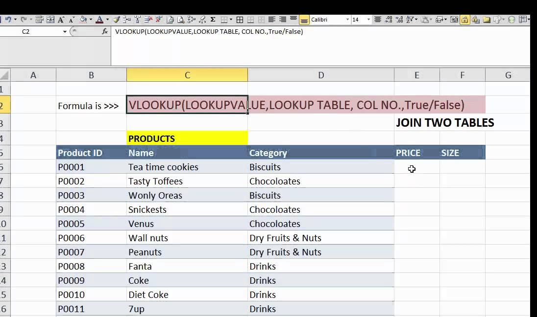 how to add vlookup and if function together in excel
