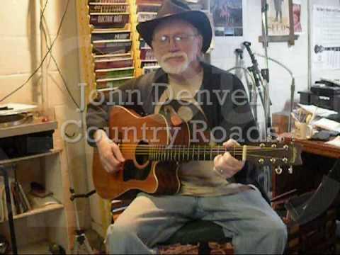 Learn Guitar - Country Roads Beginner - John Denver