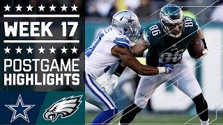 Cowboys vs. Eagles   NFL Week 17 Game Highlights