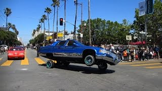 Lowrider Cars Cesar Chavez Holiday Parade 2015 Mission District San Francisco California