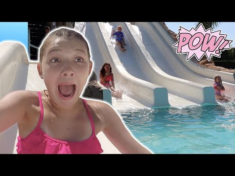 HITTING UP SOME MEGA WATER SLIDES! EURO ROAD TRIP DAY 12!