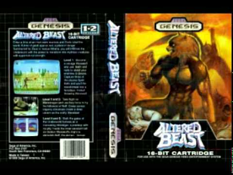 Altered Beast Game Over Altered Beast Music Game