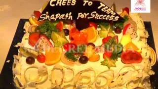 Shapath-Chocolate and Fruit cakes are cutting on the completion of 200 episodes of Shapath