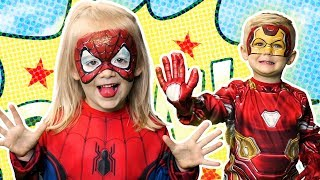 Avengers| Face Paint! | Fun Halloween Costumes