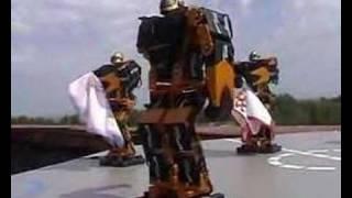 Thumb Robots bailando música rusa