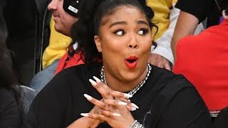 THIRSTY Lizzo BANNED From Lakers Staples Center After Bare Butt Thong Twerk