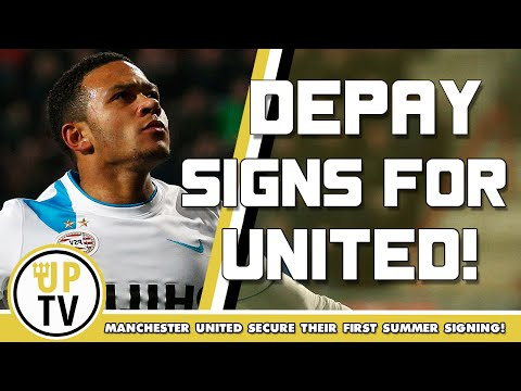 Memphis Depay - Welcome to Manchester United! Deal agreed with PSV