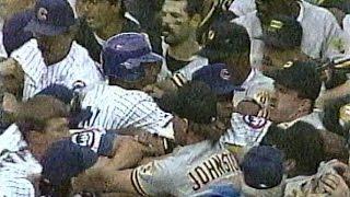 Cubs-Pirates brawl/Jim Leyland tirade, Aug. 2, 1993