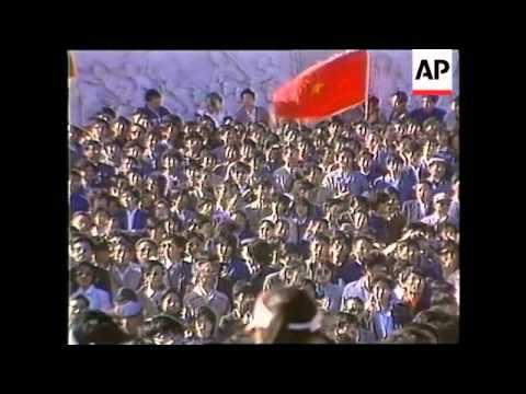 19th anniversary of Tiananmen Square crackdown