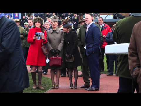 Zara Phillips And Mike Tindall At The Cheltenham Festival Gold Cup Day