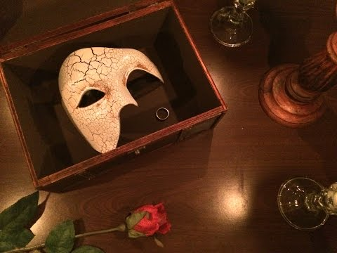 Phantom's Return - Teaser Trailer for a Phantom of the Opera fan fiction ASMR Performance