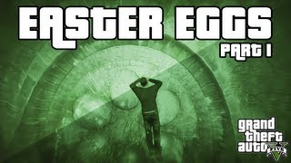 GTA 5 Easter Egg Compilation - (UFO, Zombie, Frozen Alien, Illuminati & More!) - Part 1