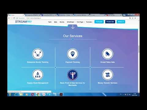 StreamPay - система мониторинга и отслеживания цепочек поставок для предприятий на блокчейн