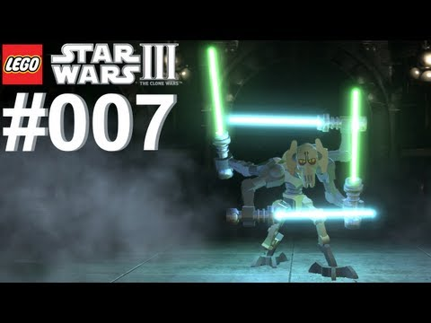 Let's Play LEGO Star Wars 3 The Clone Wars #007 In den Fängen von Grievous [Together] [Deutsch]