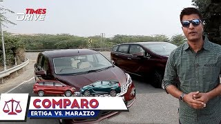 Ertiga VS Marazzo, which one is better? | Comparison by Kranti Sambhav