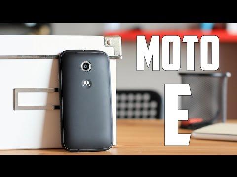 Nuevo Motorola Moto E, Review en español