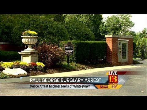 Paul George home burglary arrest