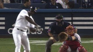 Davis takes Pedro deep for Yanks' only hit
