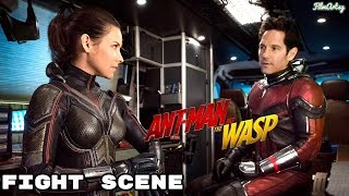 Ant-Man and The Wasp - Wasp Fight Scene - New Movie Clip | 2018