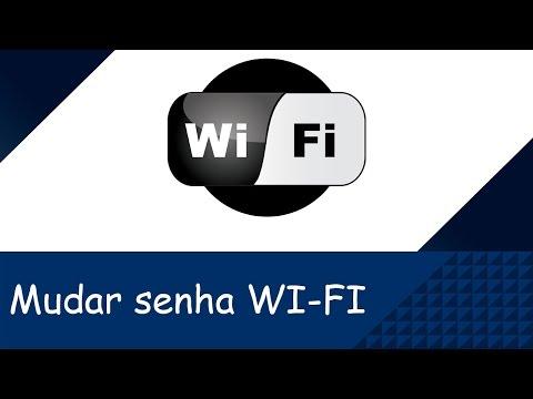 Como mudar a senha do WiFi de forma fácil - tutorial - configurar roteador