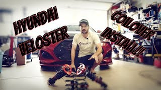 Hyundai Veloster Coilovers Install