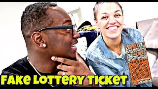 FAKE LOTTERY TICKET PRANK ON DAD!!!!! (GONE WRONG)