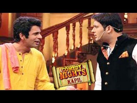 Kapil Sharma SHOCKED by Gutthi aka Sunil Grover