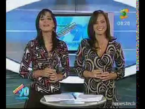 marisel y perla bailando juntitas en la mañana del 2008