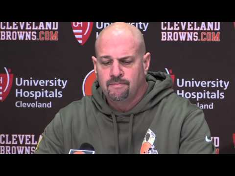 Mike Pettine says the Browns quarterback situation is 'still very much a question mark'