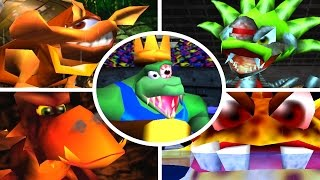 Donkey Kong 64 - All Bosses (No Damage)